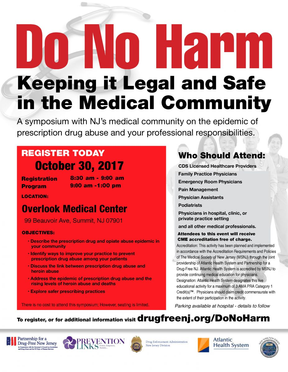 Previous Do No Harm Symposium Series Have Included